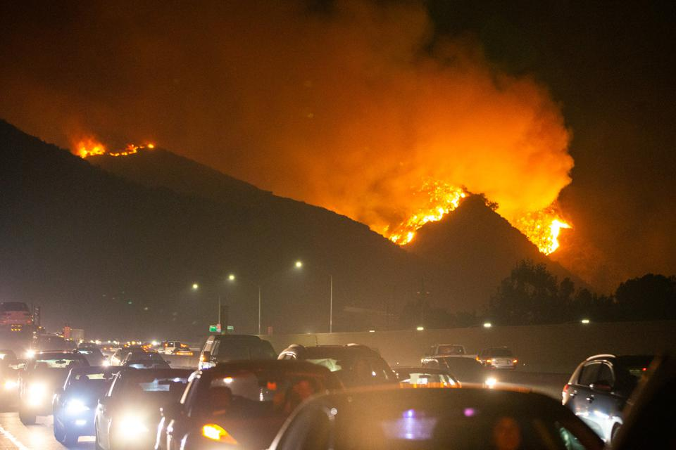 U.S.-LOS ANGELES-FIRE
