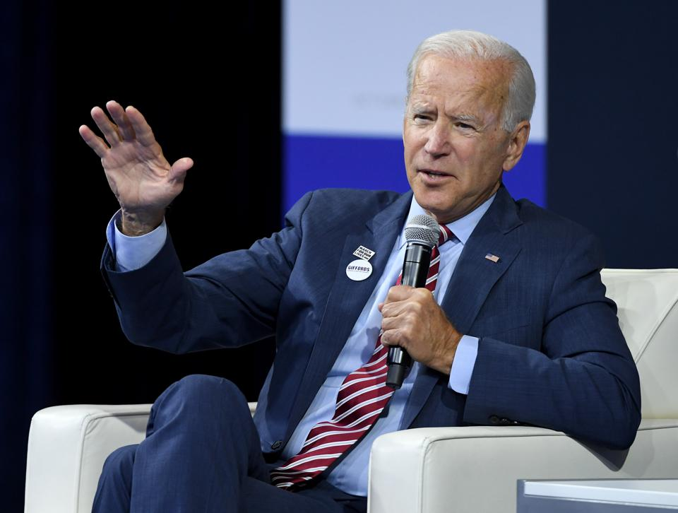 Presidential candidate Joe Biden proposes a higher education plan.