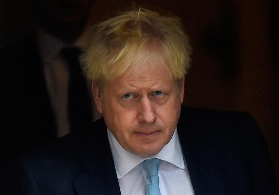 Britain's Prime Minister Boris Johnson Leaves 10 Downing Street