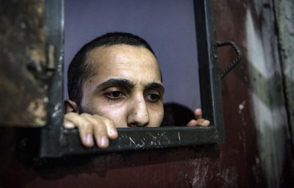 TOPSHOT-SYRIA-CONFLICT-IS-PRISON