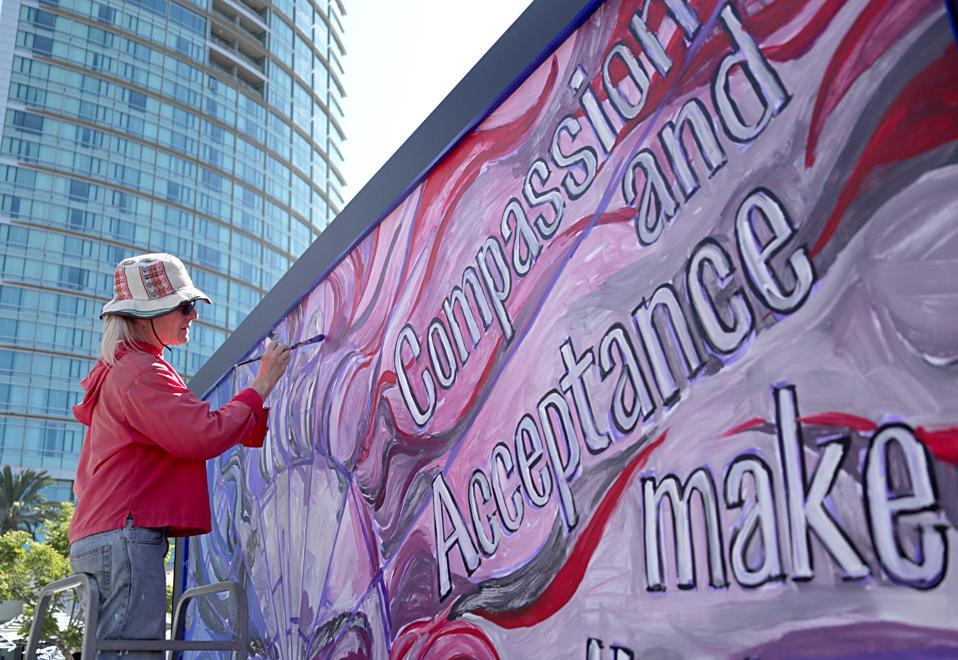 Local Artists, NAMI San Diego & Neurocrine Biosciences Co. Create Mural re: Mental Health