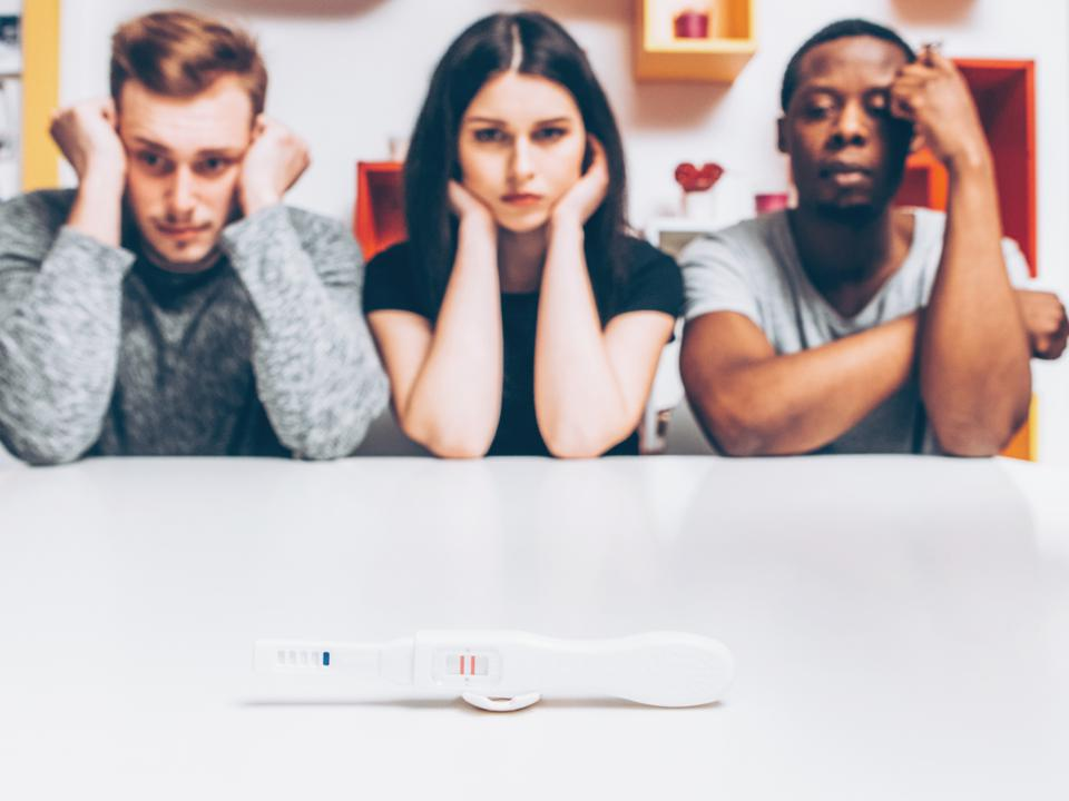 polyamorous parenting unplanned pregnancy test