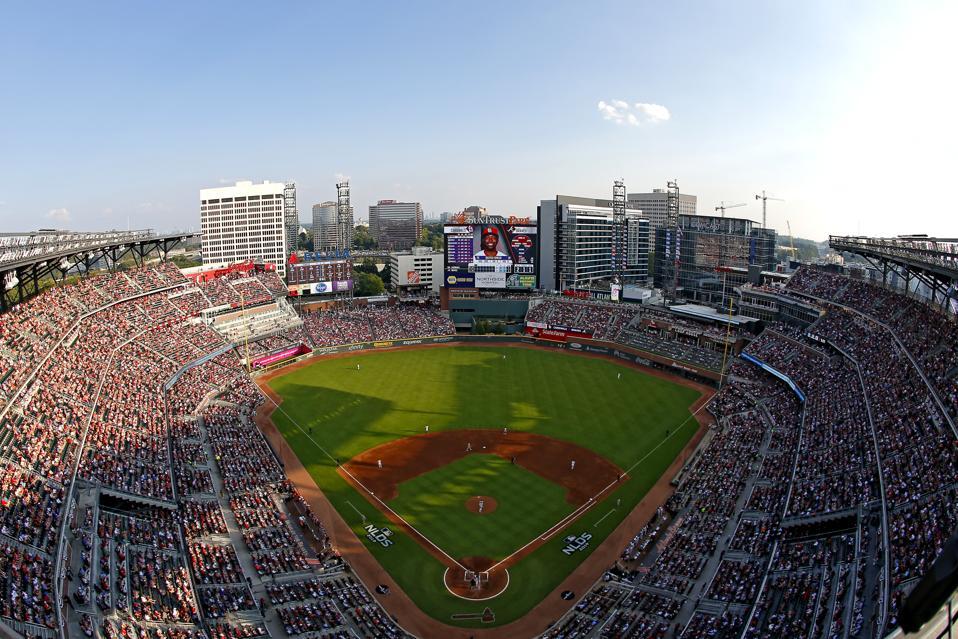 Divisional Series - St Louis Cardinals v Atlanta Braves - Game One