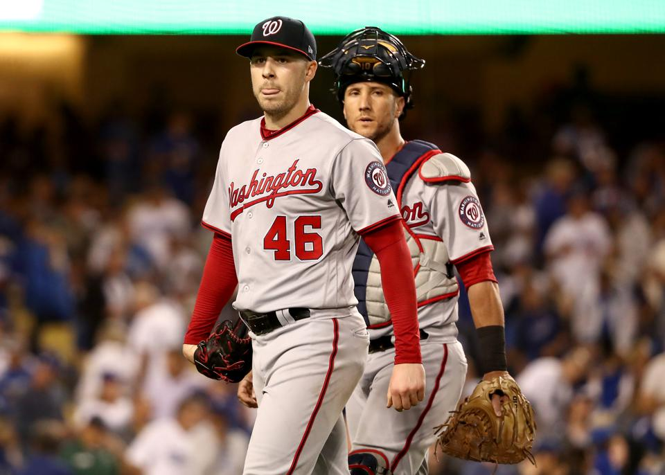 Divisional Series - Washington Nationals v Los Angeles Dodgers - Game One