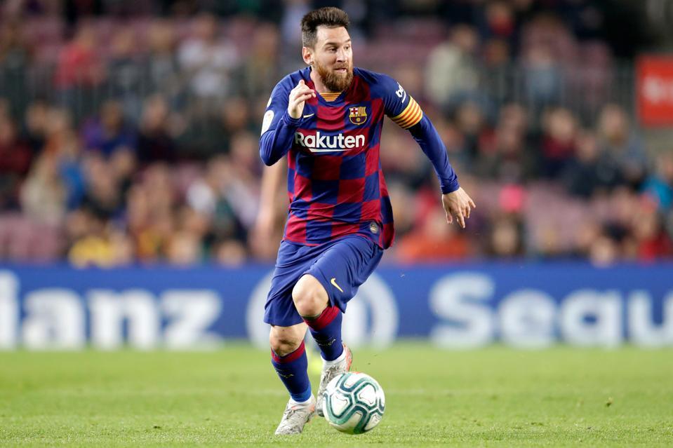 FC Barcelona v Real Valladolid - La Liga Santander