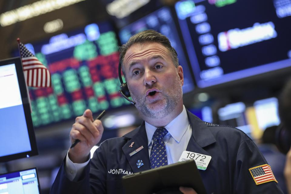 Markets React To Federal Reserve Announcement On Interest Rates
