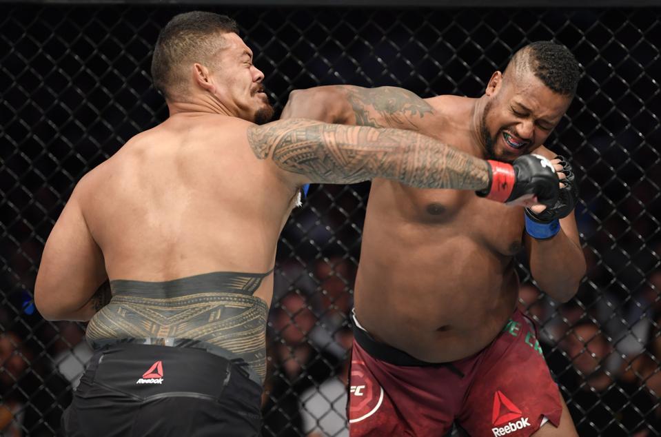 UFC 243: Tafa v De Castro
