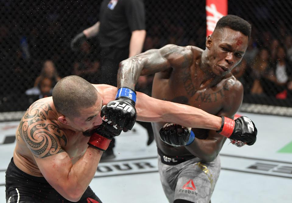 Ufc 243 Stats And Video Highlights From Israel Adesanya S