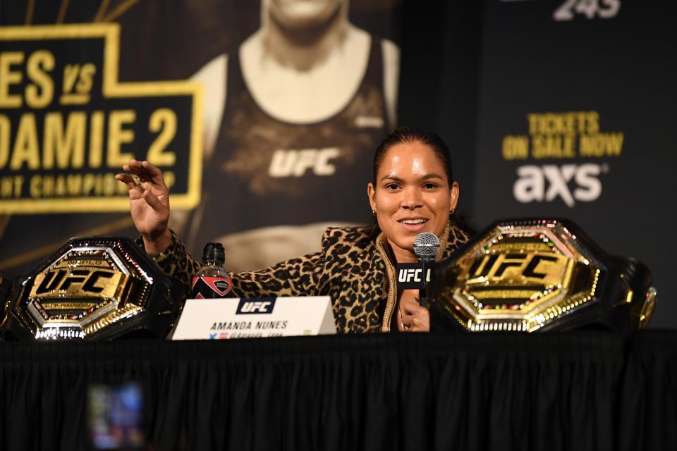 Amanda Nunes faces Felicia Spencer tonight at UFC 250