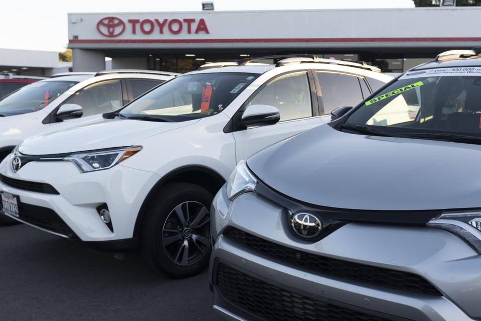 Toyota California Emission