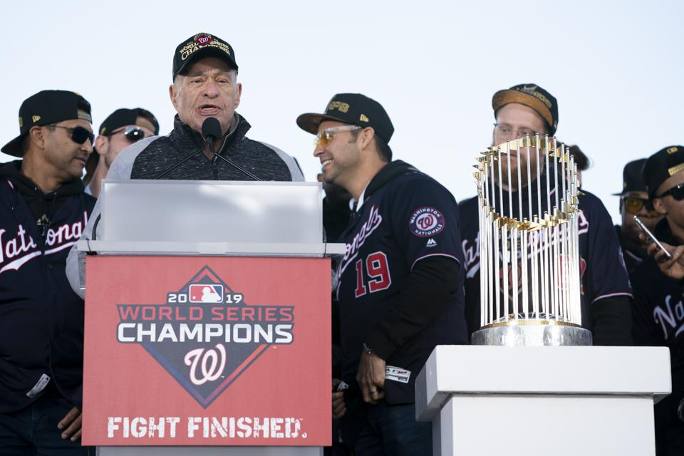 Washington Nationals World Series Victory Parade MLB