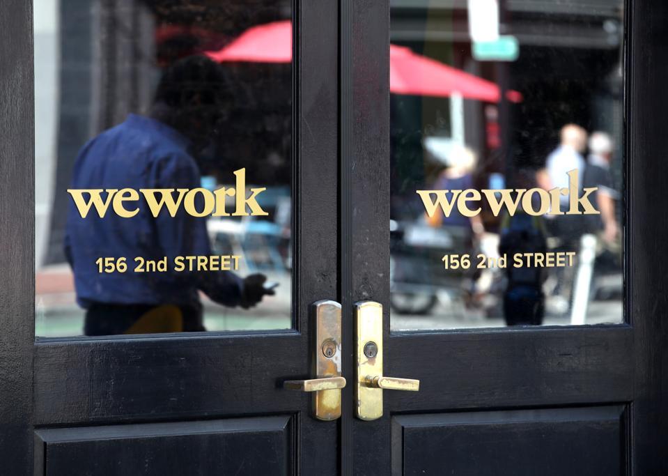 WeWork कैंसिल योजनाएं इसके IPO के लिए
