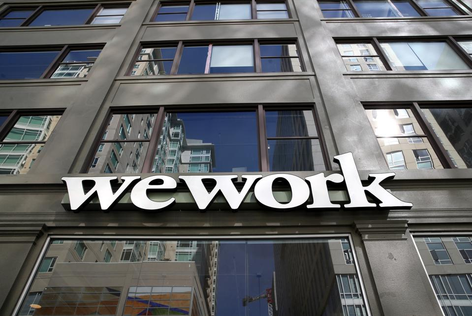 WeWork Cancels Plans For Its IPO. WeWork valuation softbank