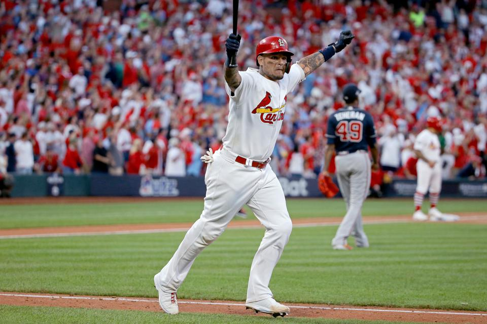 Yadier Molina's Legend Grows In St. Louis As Cardinals Force Game 5