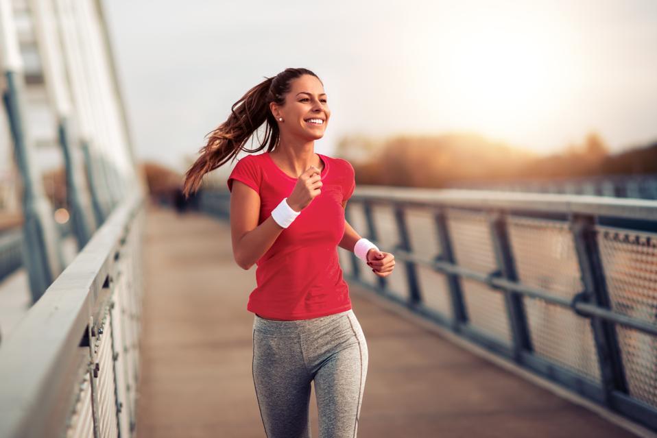 Fitness women exercising outdoors