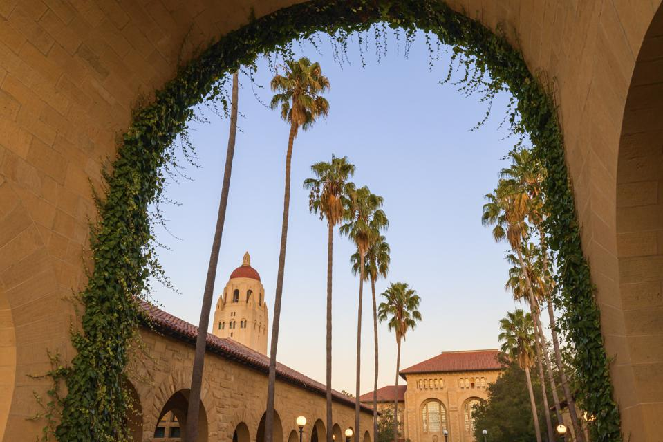 This is a photo of Stanford University campus.