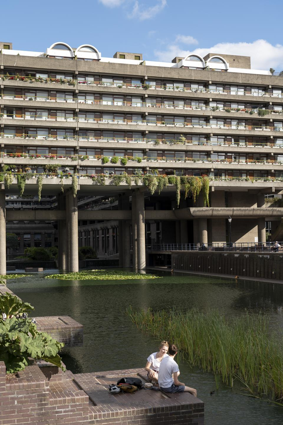 The Barbican Centre In East London