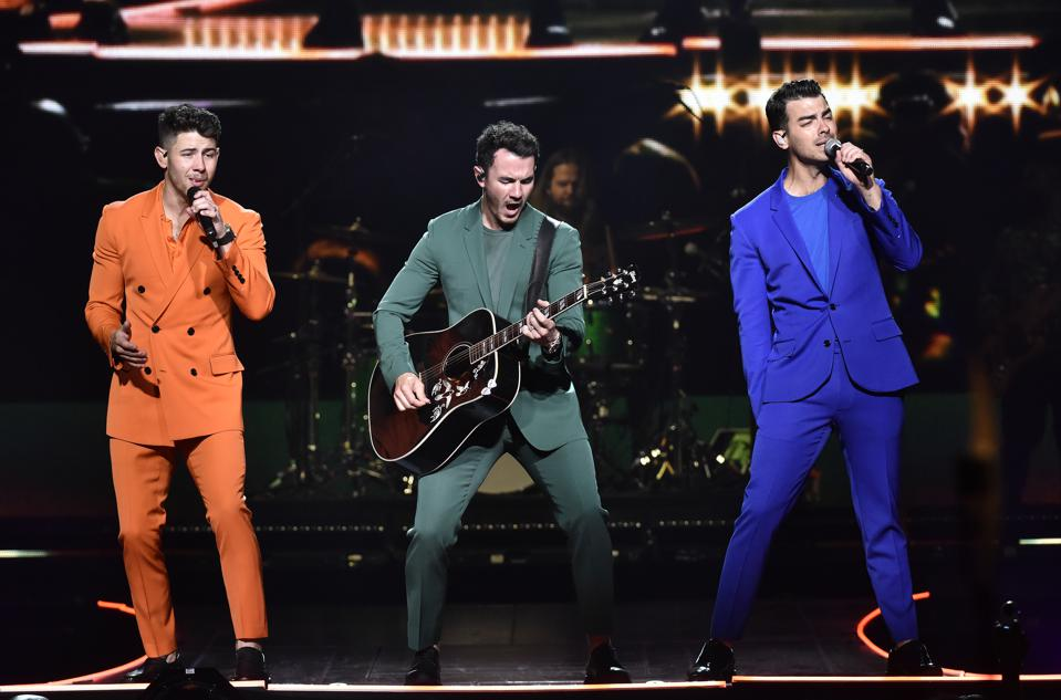 Jonas Brothers In Concert - San Francisco, CA