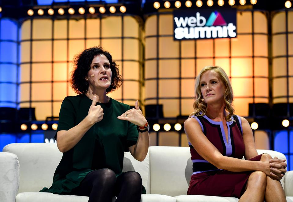The annual Web Summit tech conference brought together many of the world's top marketers.
