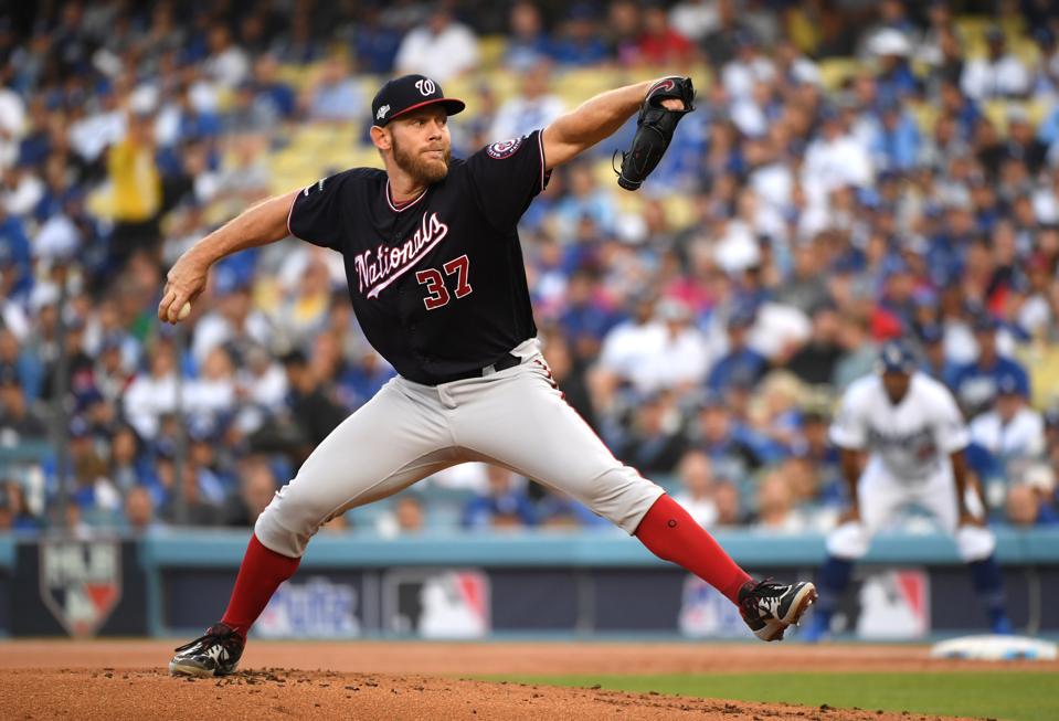 Divisional Series - Washington Nationals v Los Angeles Dodgers - Game Five