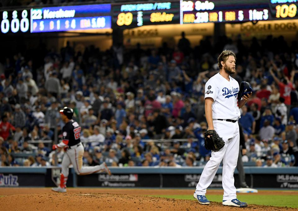 Divisional Series - Washington Nationals v Los Angeles Dodgers - Game Five