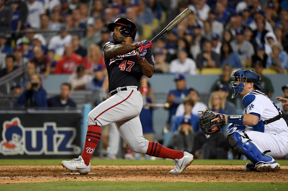Kendrick's 10th-Inning Grand Slam Lifts Nationals Past Dodgers And Into NLCS