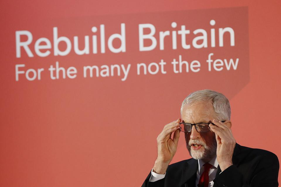 Labour Party Leader Jeremy Corbyn Delivers Speech Setting Out His Agenda