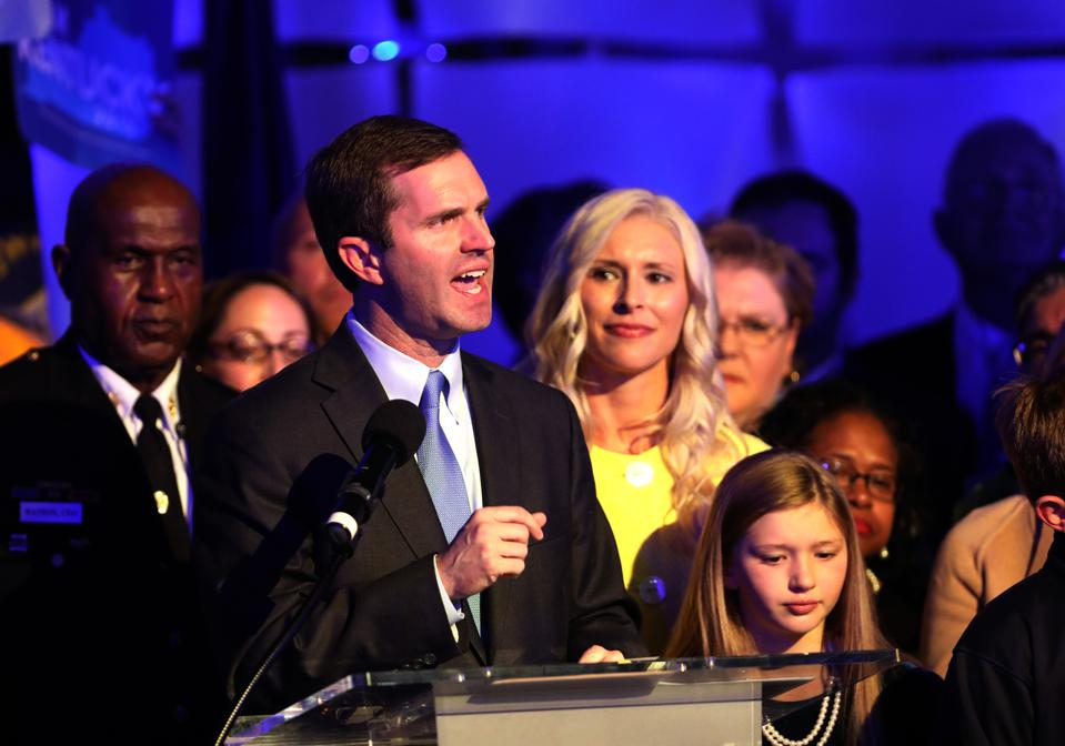 Democratic Candidate Andy Beshear Projected Winner Of Close Race For Kentucky Governor