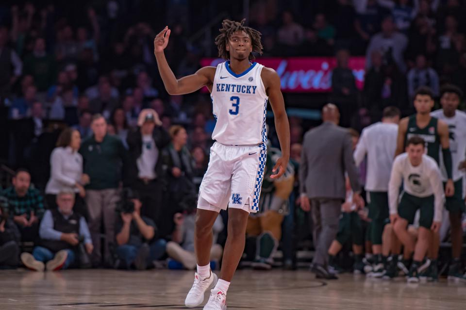 COLLEGE BASKETBALL: NOV 05 State Farm Champions Classic - Michigan State v Kentucky