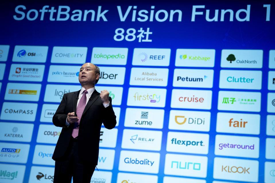 SoftBank Reveals $6.5 Billion Loss From Uber, WeWork Turmoil
