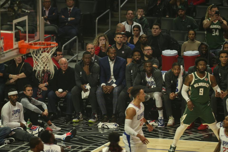 NBA: NOV 06 Bucks at Clippers