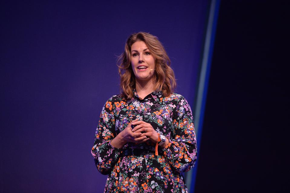 Anna Gedda, Head of Sustainability, H&M Group at Web Summit 2019 in Lisbon, Portugal