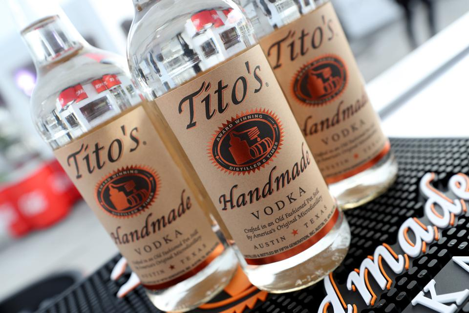 2019's Drink Trends: Tito's Top Spirit In U.S.; No/Low Continues To Grow