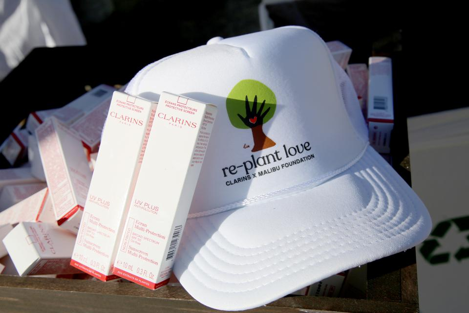 Clarins And The Malibu Foundation joint forces to replant tress in California.