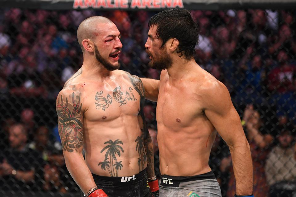 UFC Fight Night 161: Stats And Video Highlights From Cub Swanson's Win Over Kron Gracie