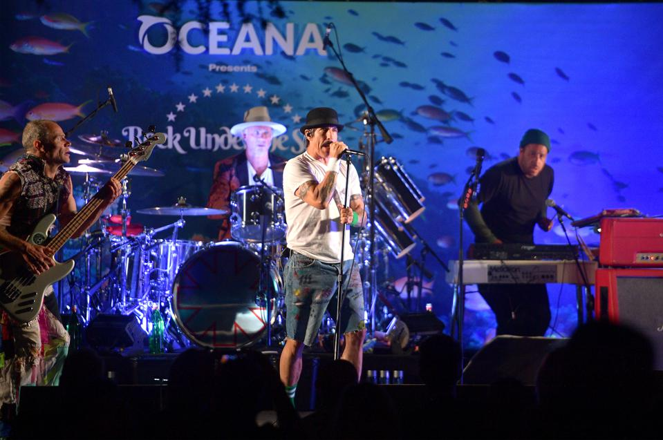 Oceana's Fourth Annual ″Rock Under The Stars″ Featuring The Red Hot Chili Peppers