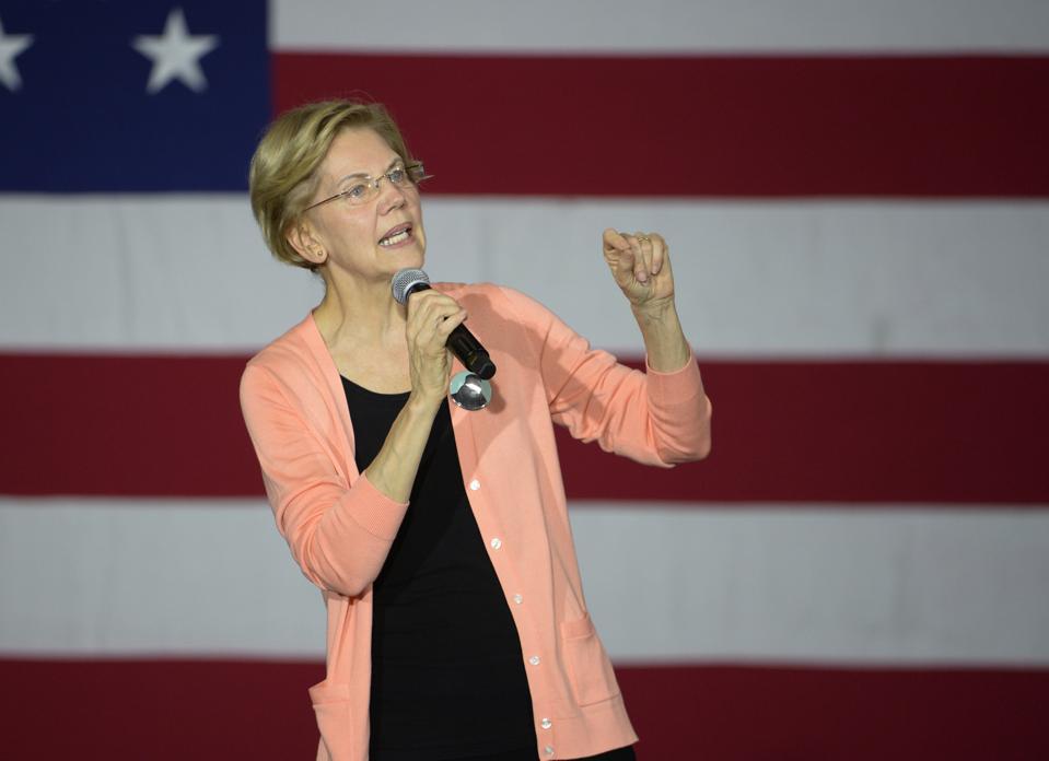 Elizabeth Warren Campaigns With Rep. Ayanna Pressley In North Carolina