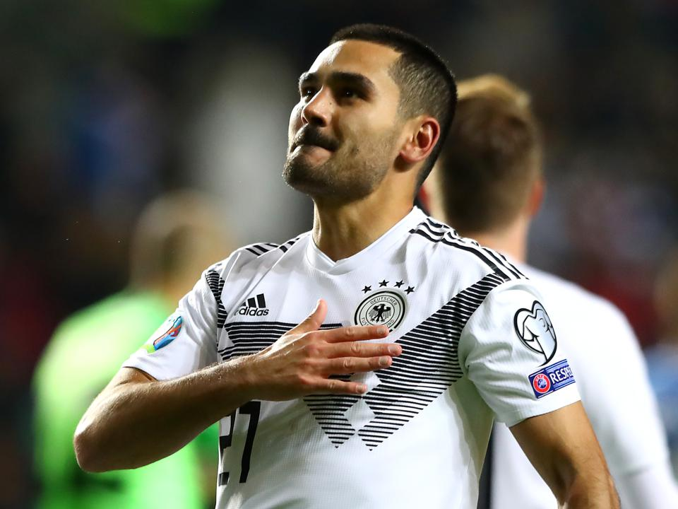 Manchester City Star Ilkay Gündogan Leads Germany To 3-0 Win Over Estonia