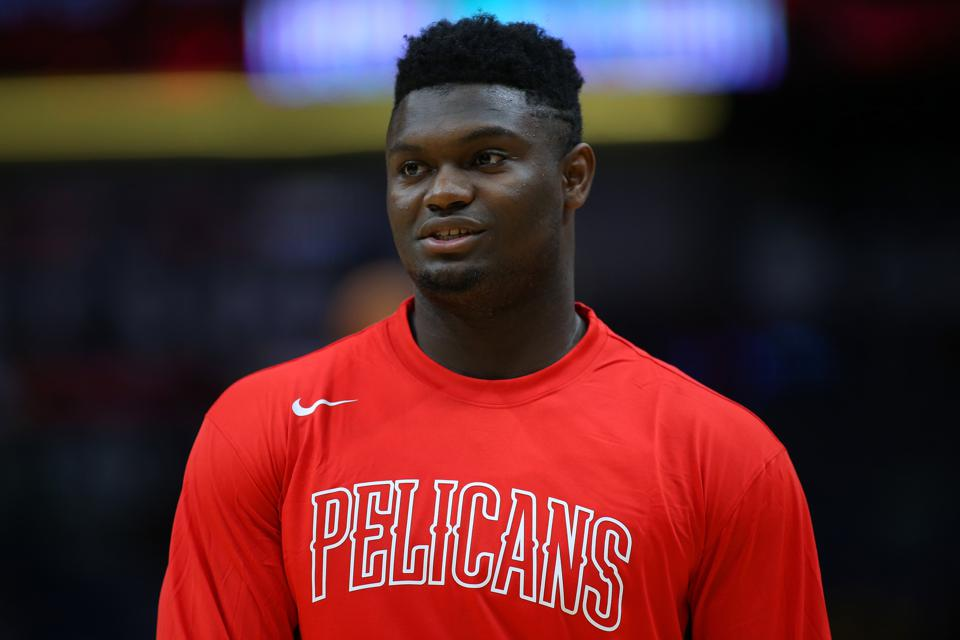 Zion Williamson To Miss Preseason Game With Knicks With Knee Soreness