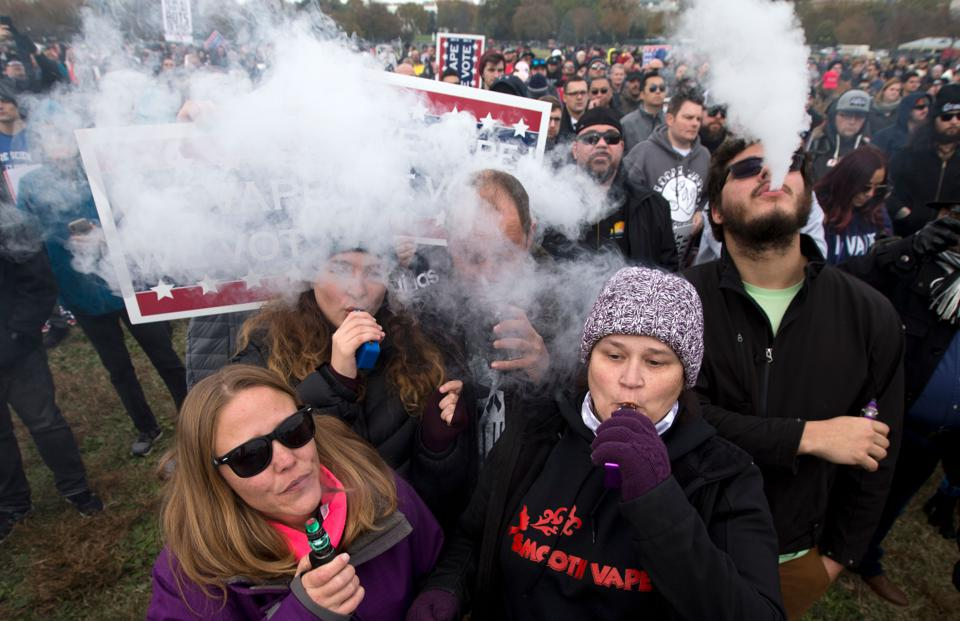 To Vape Or Not To Vape: A Potential Health Disaster Unfolds