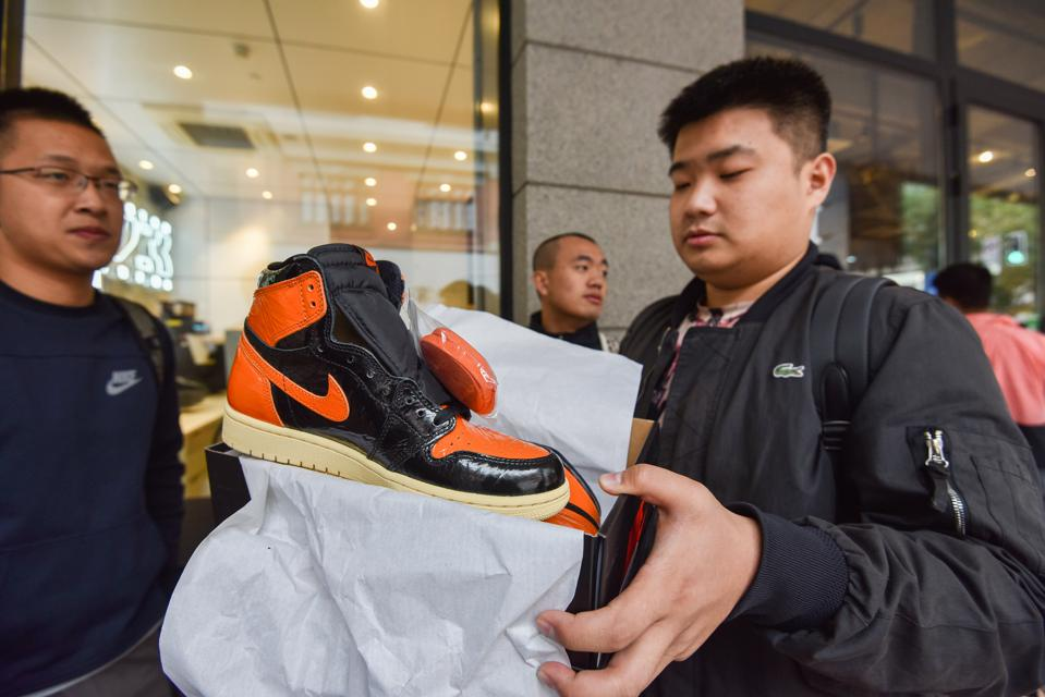CHINA-INVESTMENT-LIFESTYLE-SNEAKERS