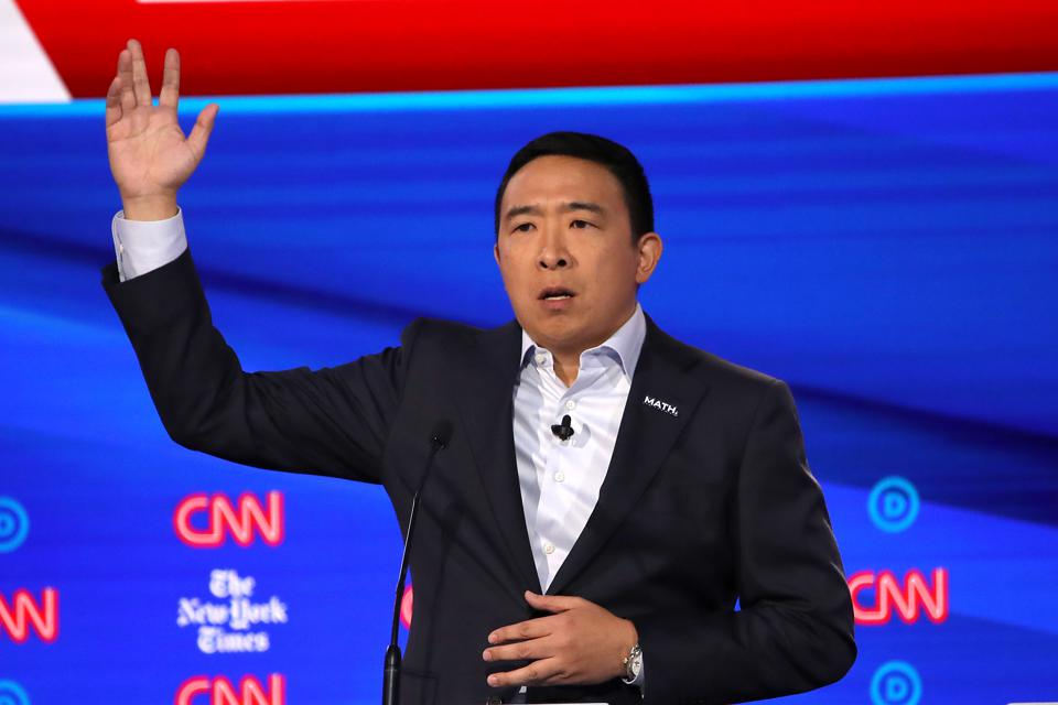 Andrew Yang Just Dunked On Bing During The Democratic Debate