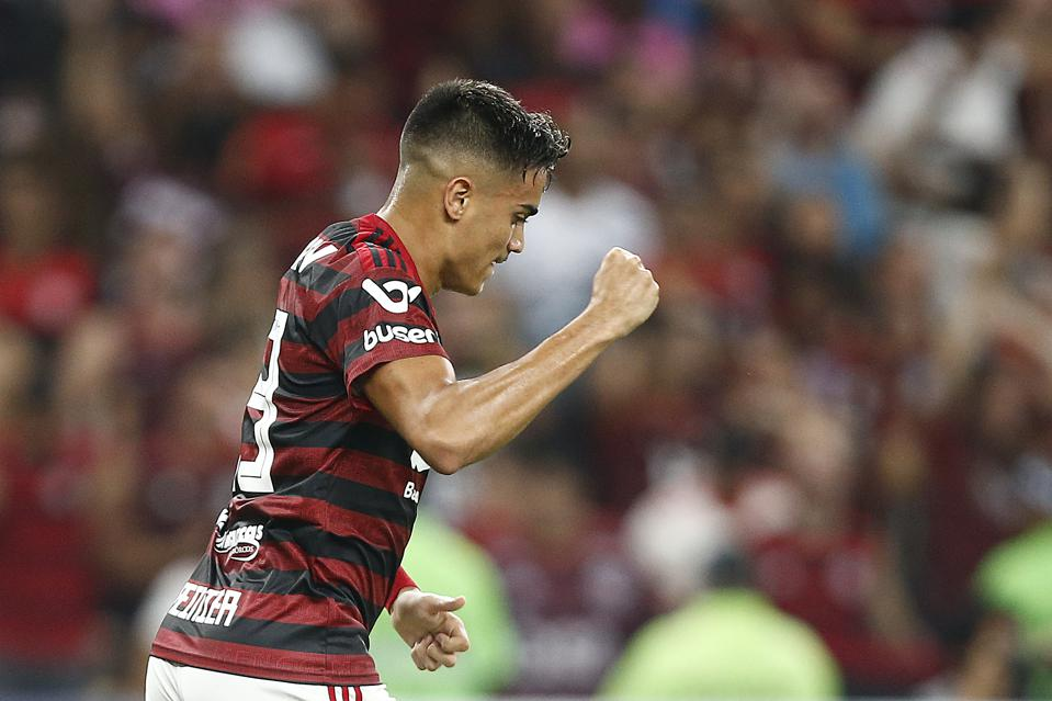FC Barcelona's Brazil Scouting Mission Turns To Flamengo Wonderkid Reinier