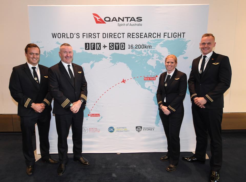 Qantas Set For World First Commercial Airline Non-Stop Flight From New York To Sydney