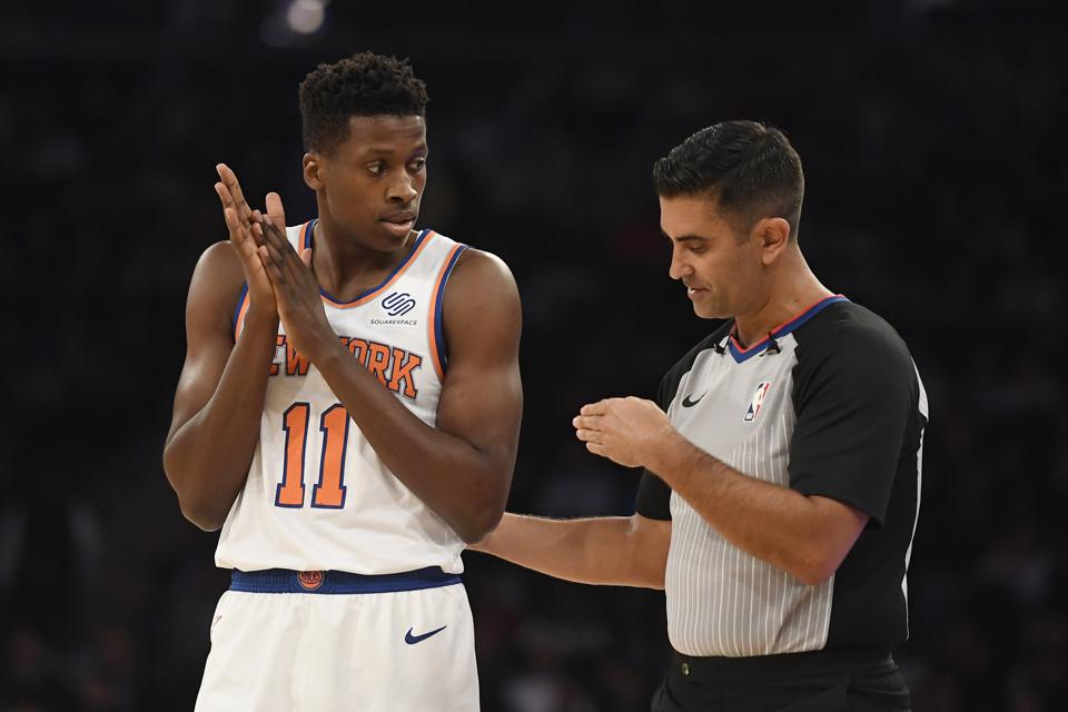 Knicks Exercise $6.2 Million Option On Frank Ntilikina, Pick Up Options on Kevin Knox, Dennis Smith Jr.