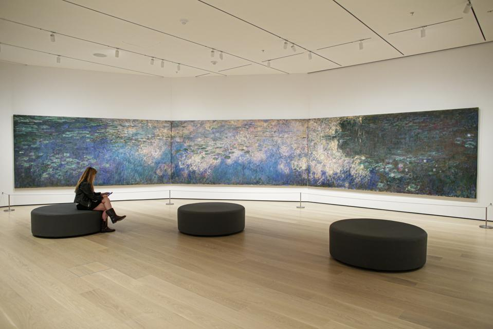 The Story Behind MoMA's Monet Water Lilies Room