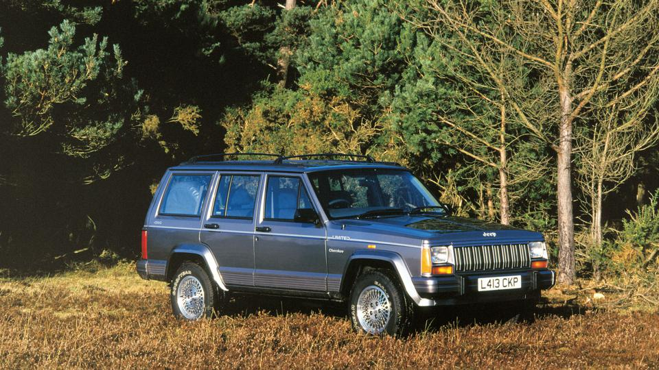 1993 Jeep Cherokee 4.0 Litre. Creator: Unknown.