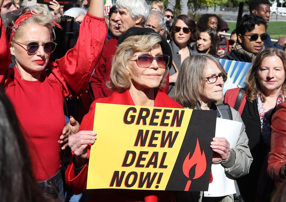 Activists Hold Climate Change Rally At U.S. Capitol