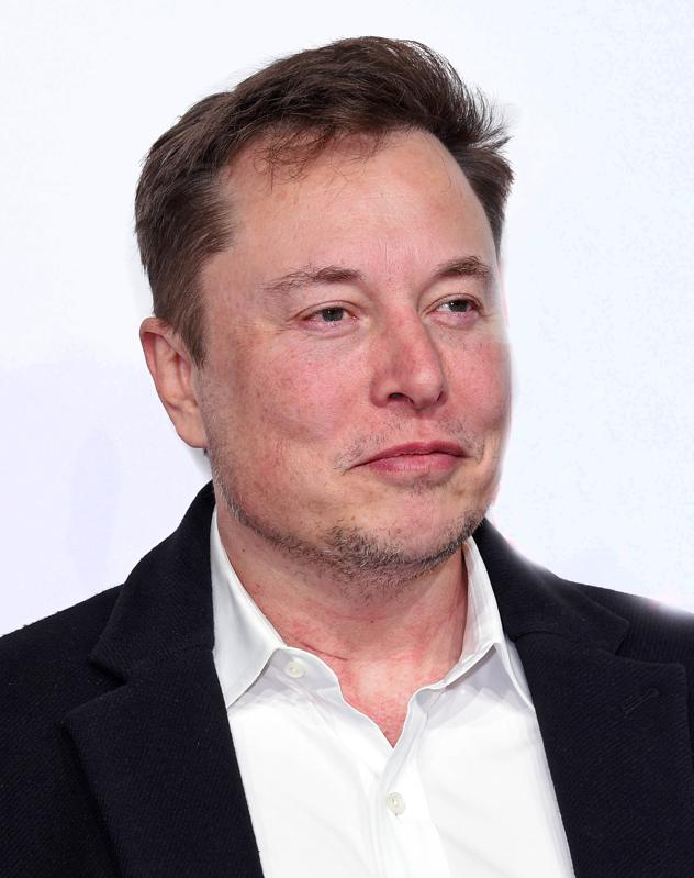 Picture of Elon Musk smiling
