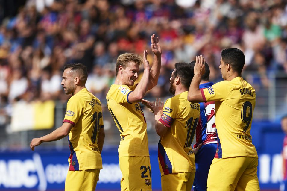 FC Barcelona And The Crisis That Never Was On Their Return To The Top Of La Liga